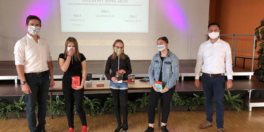 Guess my song 2020 – Ein Liederrateprojekt des Geschwister-Scholl-Gymnasiums